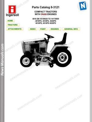 Komatsu Crawler Loader D57S-1 Shop Manual