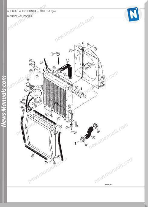 Case Uni-Loader 1840 Parts Catalog