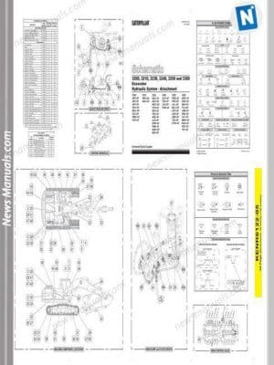 Gehl 1448 Plus Asphalt Paver Parts Manual 918214B