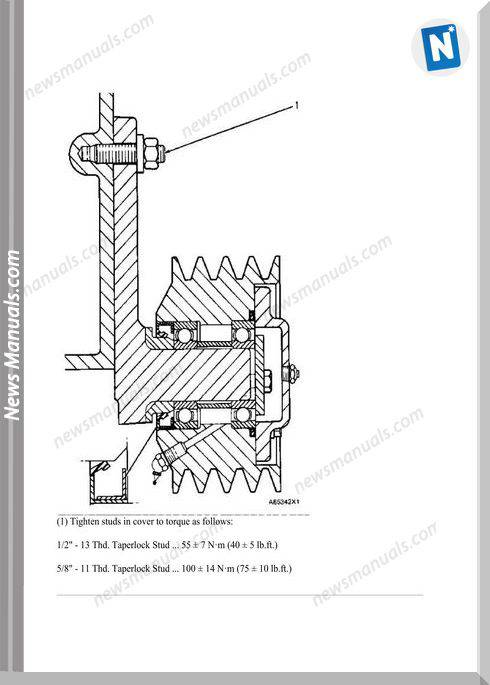 Caterpillar 3406B Industrial Marine Engine
