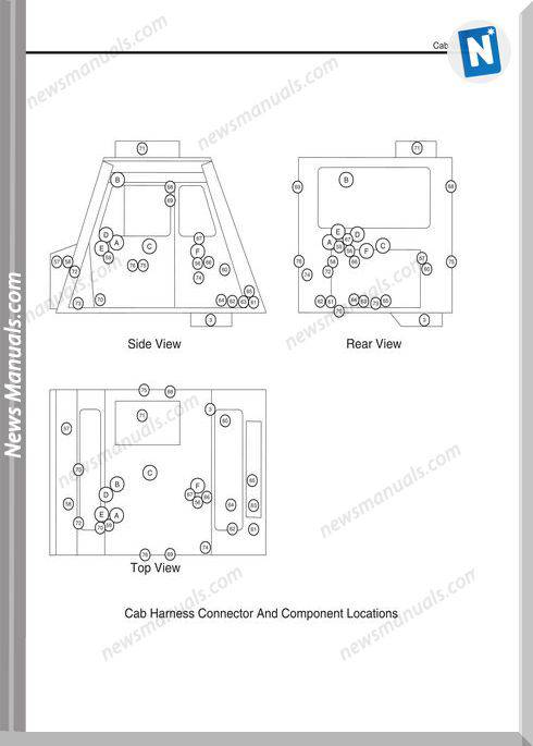 Caterpillar 797 Truck Schematic Tables-Symbol