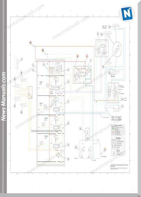Caterpillar D9R Track-Type Tractor Hydraulic System