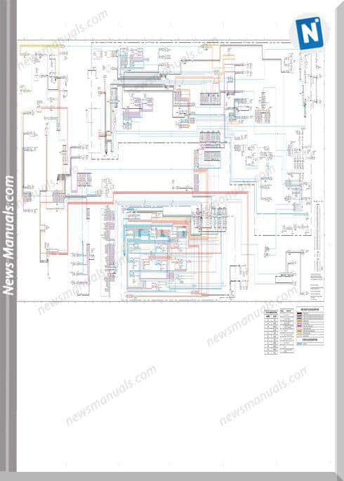 Caterpillar Schematic 330 Excavator Electric System