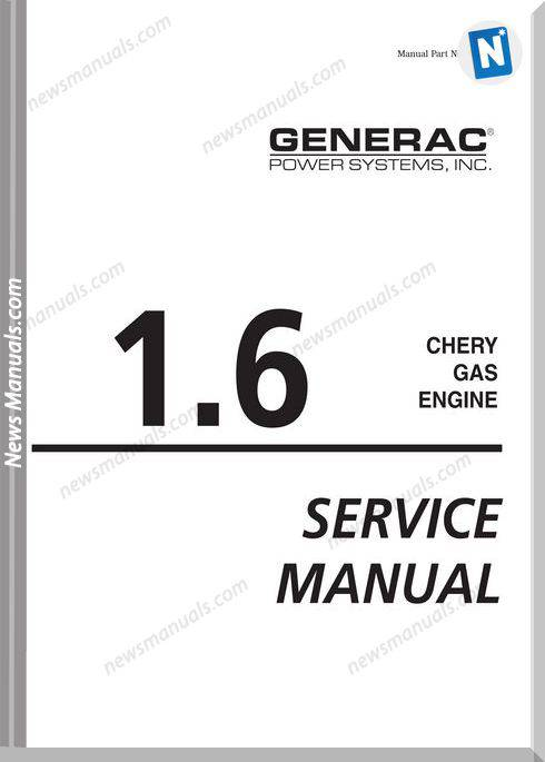 Chery Gas Engine Manual