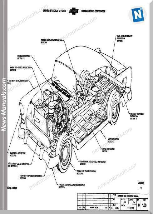 Chevrolet Assembly Manual Model Year 1955