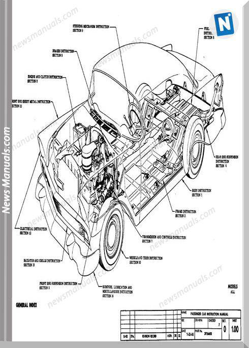 Chevrolet Assembly Manual Model Year 1956