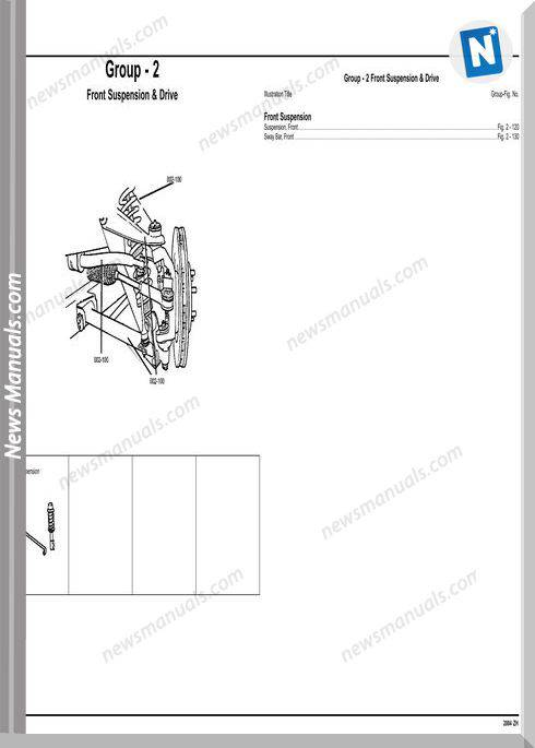 Chrysler Crossfire 2004 Zh Parts Catalog