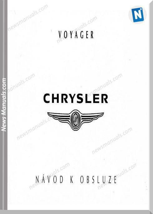 Chrysler Voyager Owners Manual Cze