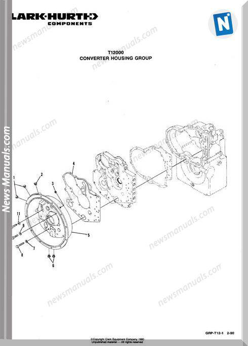 Clark Hurt Components T12000 Series Parts Manual