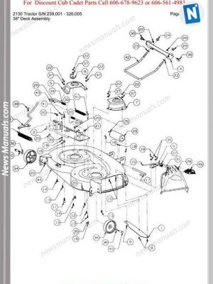 CUB-CADET All Manuals • News Manuals