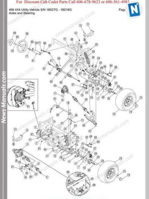 John Deere 240 250 Workshop Manual