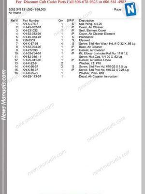 Zetor 5211-5245-6211-6245-7211-7245-H-7711 Part Manual