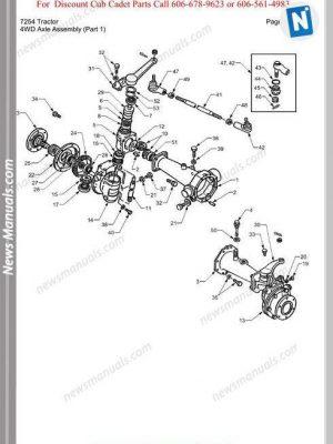 Kubota Series T1570,T1670,T1770,T1870 Workshop Manual