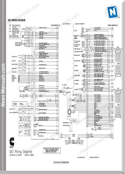 Cummin Qsb Wiring Diagram For Ecm No 3942860 3944124