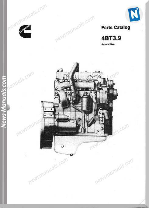 Cummins 4Bt 3.9 Parts Catalogue