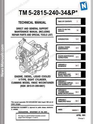 New Holland B95 Loader Backhoe Parts Manual