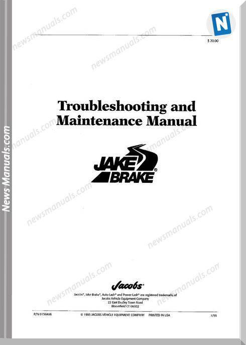 Cummins Jacobs Brake Troubleshooting Guide