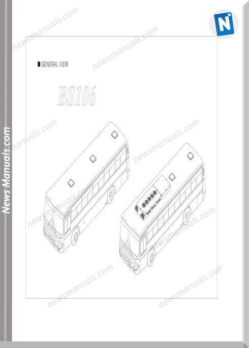 Daewoo Bs106 Chassis Parts Catalogue