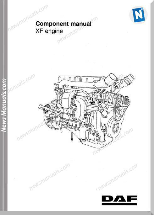 Daf Xf Engine Repair Manual Dw13208402