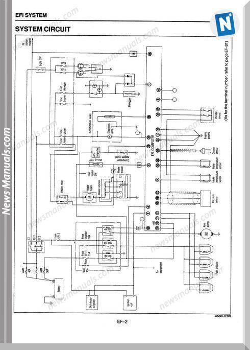 Daihatsu Hd Engine Efi System