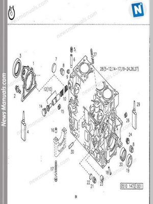 Deutz 1011F Engine Parts Diagram