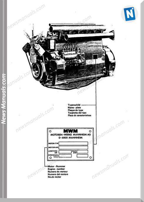 Deutz D 226 6 Spare Parts Catalogue