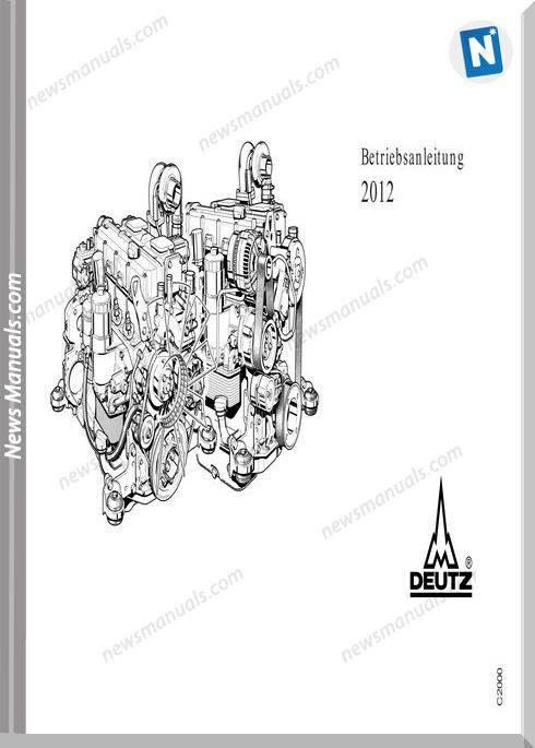 Deutz Engine Betriebsanleitung 2012