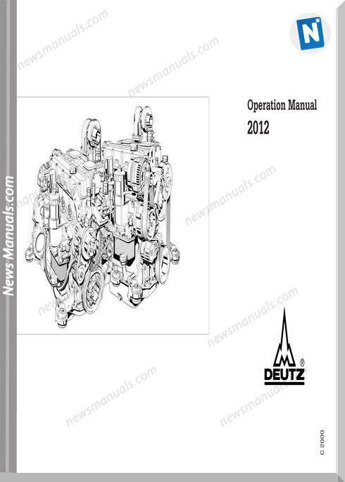 Deutz Engine Operation Manual 2012