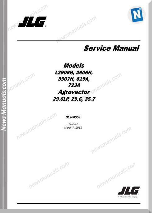 Deutz-Fahr 29.6Lp,29.6,35.7 Service Manual