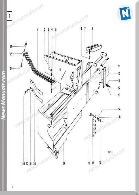 Deutz Hd-300 Parts Manual German