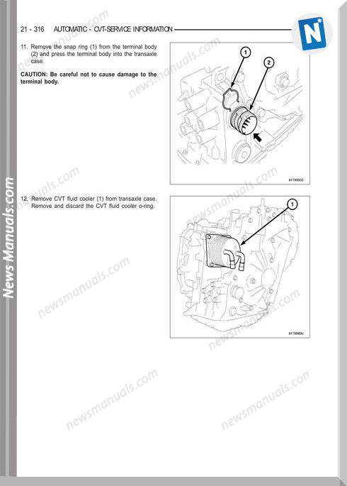 Dodge Caliber 2007 Service Manual 2