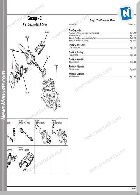 Dodge Dacota 1997 An Parts Catalog