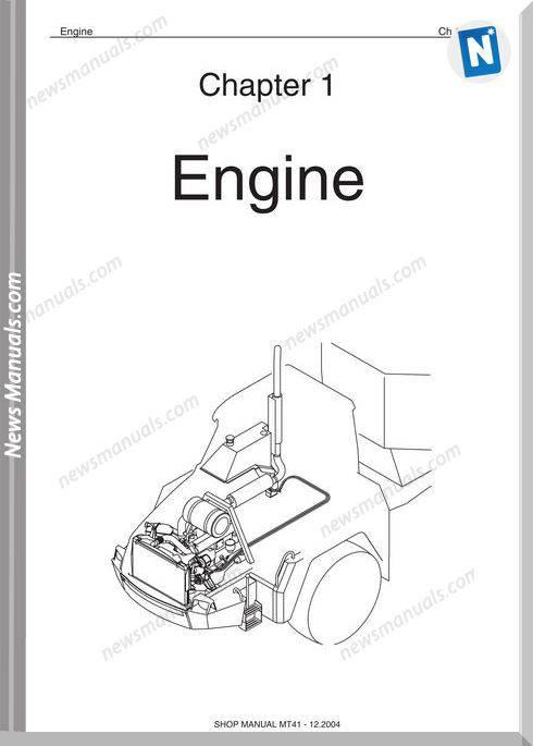 Doosan Dump Trucks Mt41 Shop Manual