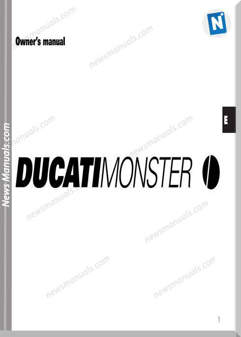 Ducati Monster 02 Owners Manual General