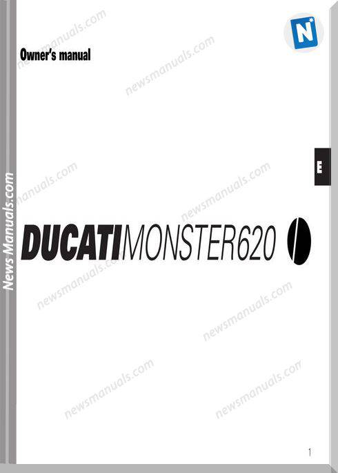 Ducati Monster 620 Owners Manual