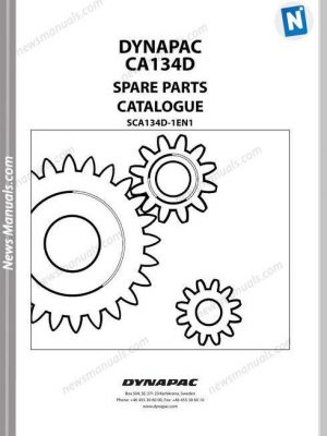 Terex Schaeff Hr16-358-2065 Parts Catalog