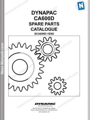 Gehl 1202 Compact Excavator Parts Manual 918044D