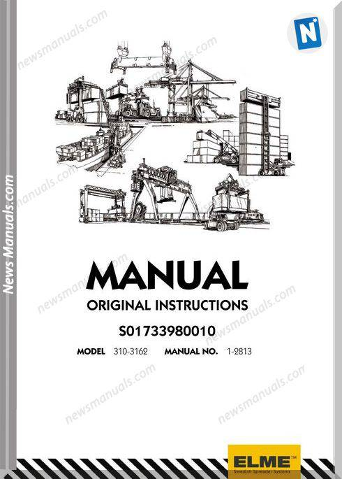 Elme Container Agg Model 310-3162 Repair Manual