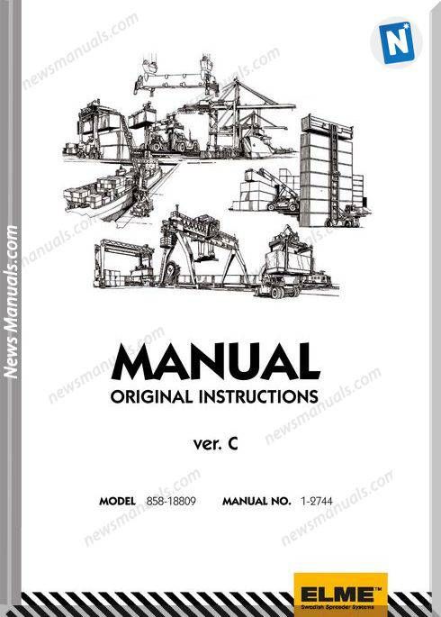 Elme Container Agg Model 585-18809 Repair Manual