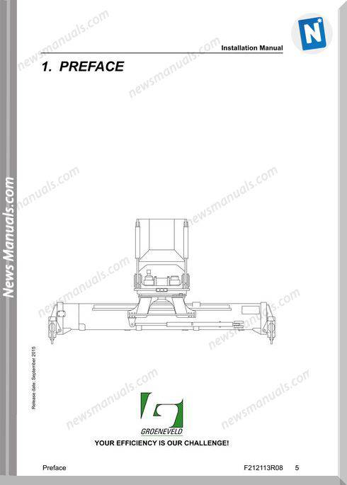 Elme Container Agg Model 817 Installation Manual