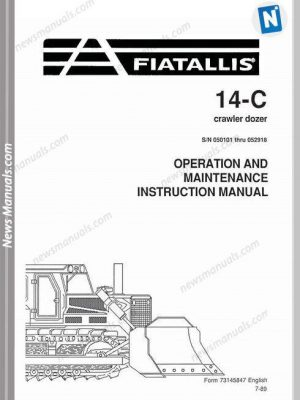 FIAT-ALLIS All Manuals • News Manuals