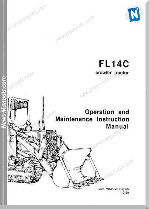 Fiat Allis Crawler D Loader Fd5, Fl5 Maintenance Manual