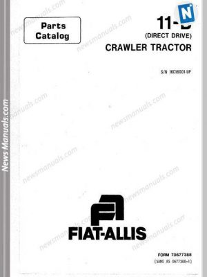 FIAT-ALLIS All Manuals • Page 4 of 12 • News Manuals