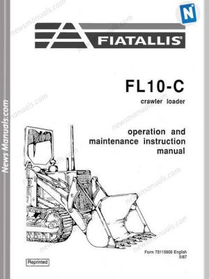 Fiat Allis Wheel Loader Model Fr15 Parts Catalog