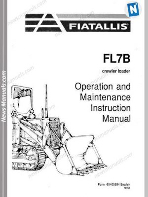 Fiat Allis Fr10B Models Wheel Allis Parts Manual