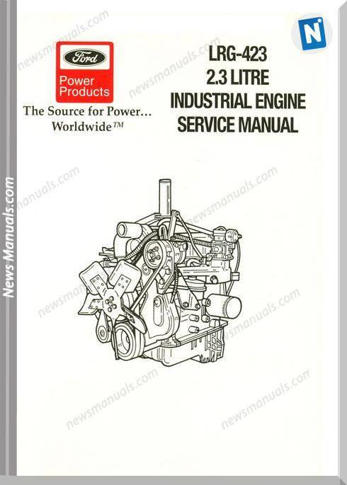 Ford Lrg 423 2 3L Service Manual