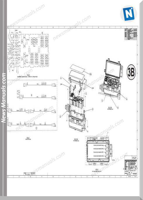Freightliner Cascadia Print Pack 2013 Schematic Manuals