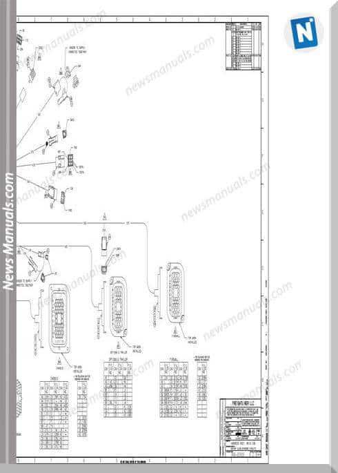 Freightliner Century Class Standard A06-25925 Schematic