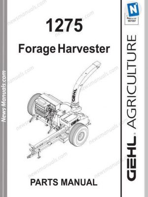 Gehl Skid Loader Sl 4640 4840 5640 6640 Operator Manual