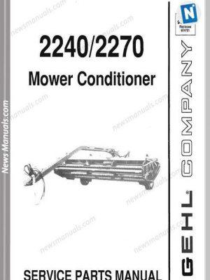 Gehl Agri 2240 2270 Mower Conditioner Parts 904988